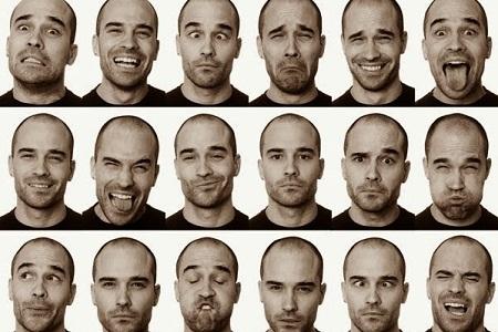 Английский на каждый день: Описание выражений лица