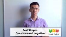 Вопросы и Отрицания в Past Simple