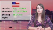 Который сейчас час? - part 1 (time of day)