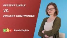 Популярные ошибки: Present Simple и Present Continuous