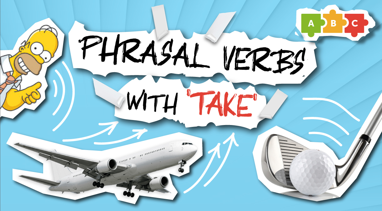 Phrasal verbs with 'take'